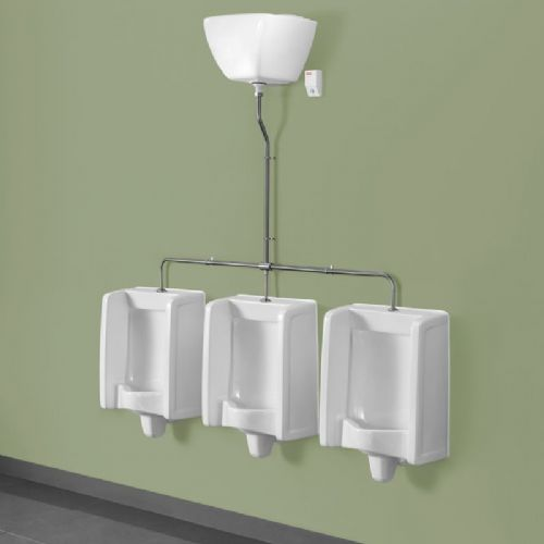 Top Inlet Florida Urinal Kits with Fully Exposed Pipework